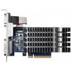 Placa video ASUS GeForce GT 710 2GB DDR3 64-bit Low Profile