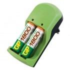 Incarcator GP Batteries Incarcator AA/AAA (R3/R6) NIMH + 2R6 2100 mAh