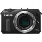 Canon EOS M negru + EF-S 18-55 IS