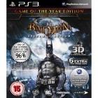 Eidos Batman: Arkham Asylum - Game of the Year Edition pentru PlayStation 3