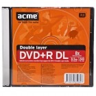 Acme DVD+R 8.5GB Dual Layer 8x slim case 1 buc