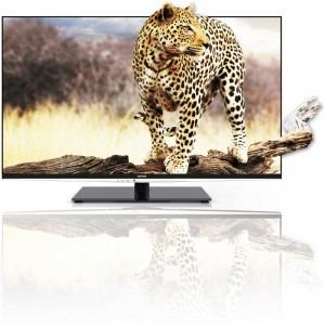 Toshiba Smart TV 42VL963G Seria VL963G 106cm negru Full HD 3D + 4 perechi de ochelari 3D