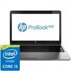HP 15.6'' Probook 450 G1, HD, Procesor Intel® Core™ i5-4200M (3M Cache, up to 3.10 GHz), 4GB, 1TB, Radeon HD 8750M 2GB, Geanta inclusa