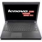 Notebook / Laptop Lenovo 15.6'' Essential B5400, Procesor Intel® Pentium® 3550M 2.3GHz Haswell, 4GB, 500GB + 8GB SSH, Fingerprint Reader, Black