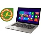Toshiba 13.3'' Kirabook-109, FHD, Procesor Intel® Core™ i5-5200U (3M Cache, up to 2.70 GHz), 8GB, 128GB SSD, GMA HD 5500, Win 8.1 Pro, Silver
