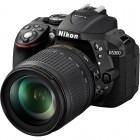 Nikon D5300 negru + obiectiv AF-S DX NIKKOR 18-105mm f/3.5-5.6G ED VR