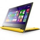 Lenovo 14'' IdeaPad FLEX 2 14, FHD Touch, Procesor Intel® Core™ i5-4210U 1.7GHz Haswell, 4GB, 128GB SDD, GeForce 840M 2GB, Win 8.1, Yellow