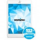 Tableta Vonino Sirius QS, 7.9 inch MultiTouch, Cortex A7 1.2GHz Quad-Core, 1GB RAM, 8GB flash, Wi-Fi, Bluetooth, 3G, Android 4.2, alb