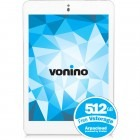 Tableta Vonino Sirius Evo QS, 7.9 inch IPS MultiTouch, Cortex A9 1.6GHz Quad-Core, 1GB RAM, 8GB flash, Wi-Fi, Bluetooth, Android 4.2, alb
