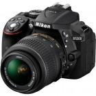 Nikon D5300 negru + obiectiv AF-S DX Nikkor 18-55mm f/3.5-5.6G VR