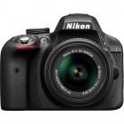Nikon D3300 negru + obiectiv AF-S DX NIKKOR 18-55mm f/3.5-5.6G VR II