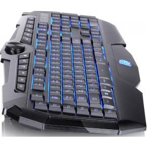 Tastatura gaming Tt eSPORTS by Thermaltake Challenger Prime Iluminated