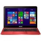 ASUS 11.6'' EeeBook X205TA, HD, Procesor Quad Core Intel® Atom™ Z3735F 1.33GHz Bay Trail, 2GB, 64GB flash, GMA HD, Win 8.1 Bing, Red