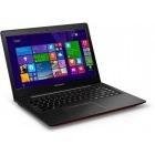 Lenovo 14'' IdeaPad U41-70, Procesor Intel® Core i5-5200U 2.2GHz Broadwell, 8GB, 1TB + 8GB SSH, GeForce 920M 2GB, Win 8.1, Red