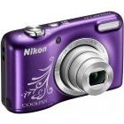 Nikon COOLPIX L31 Violet Lineart + Card 4GB + Husa