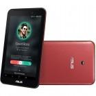 Tableta ASUS FonePad 7 FE170CG, 7 inch MultiTouch, Atom Z2520 1.2GHz Dual Core, 1GB RAM, 8GB flash, Wi-Fi, Bluetooth, 3G, GPS, Dual Sim, Android 4.3, Red