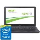 Acer 15.6'' Aspire E5-572G-38HC, HD, Procesor Intel® Core™ i3-4000M (3M Cache, 2.40 GHz), 4GB, 1TB, GeForce 840M 2GB, Linux, Black