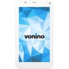 Tableta Vonino Onyx QS, 7 inch IPS MultiTouch, Cortex A7 1.3GHz Quad Core, 1GB RAM, 8GB flash, Wi-Fi, Bluetooth, 3G, GPS, Android 4.4, white