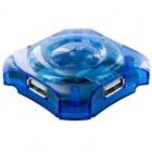 4World 04140 4 porturi Blue