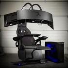Scaun gaming MWE Lab Emperor 1510, negru