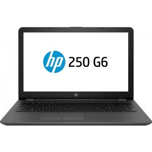 "Notebook / Laptop HP 15.6"" 250 G6, FHD, Procesor Intel® Core™ i5-7200U (3M Cache, up to 3.10 GHz), 8GB DDR4, 256GB SSD, Radeon 520 2GB, FreeDos, Dark Ash Silver, no ODD"