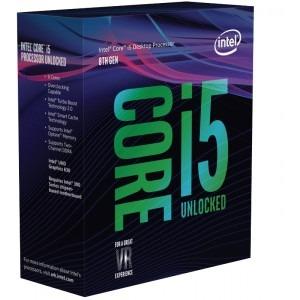 Procesor Intel Coffee Lake, Core i5 8600K 3.60GHz box