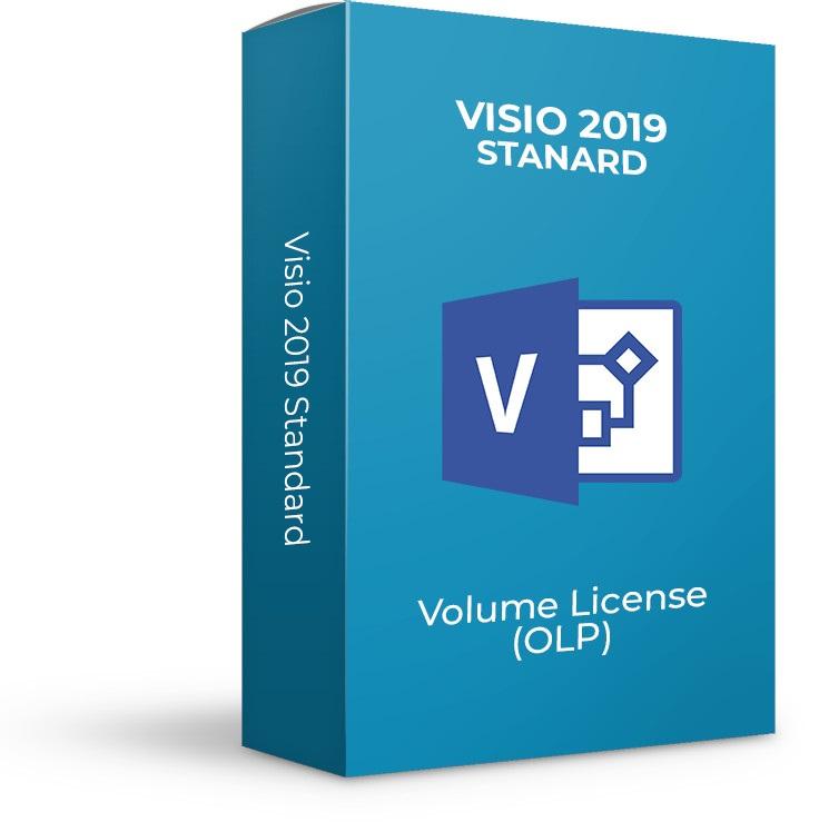 Aplicatie Microsoft Visio Standard 2019, Engleza, OLP NL