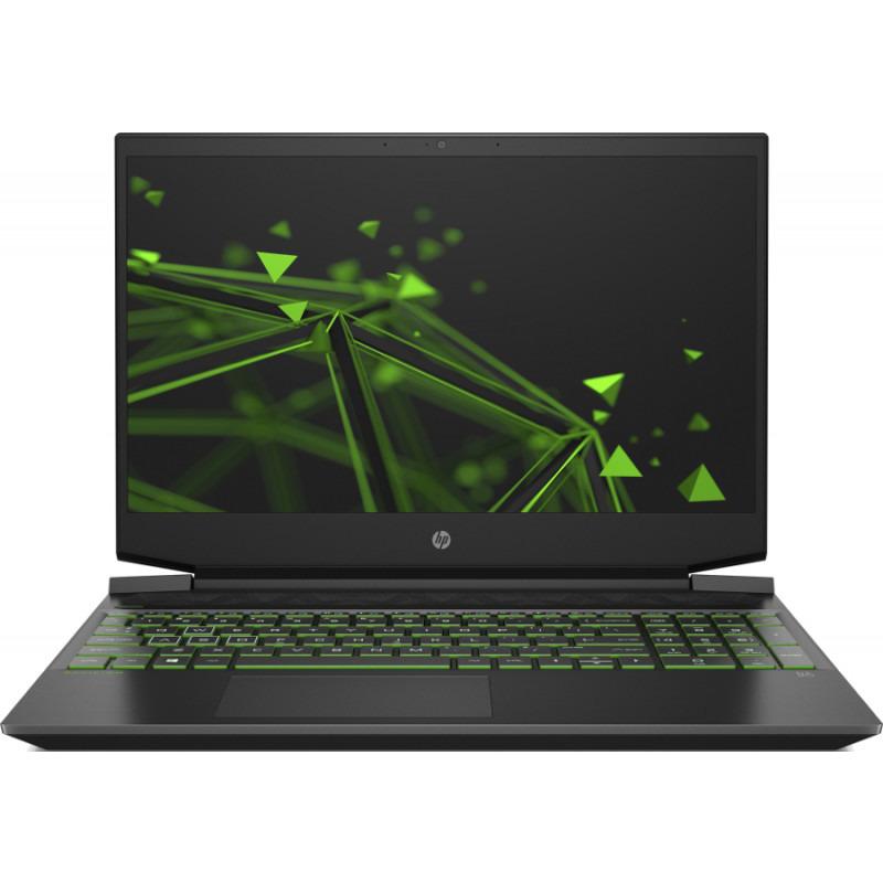 Laptop HP Gaming 15.6'' Pavilion 15-ec0054nq, FHD, Procesor AMD Ryzen™ 5 3550H (4M Cache, up to 3.70 GHz), 8GB DDR4, 512GB SSD, GeForce GTX 1650 4GB, Free DOS, Shadow Black