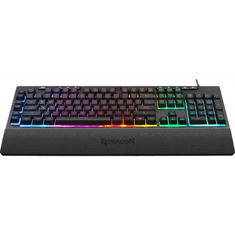 Pachet gaming Redragon, tastatura gaming Shiva RGB + mouse gaming Ranger RGB 2