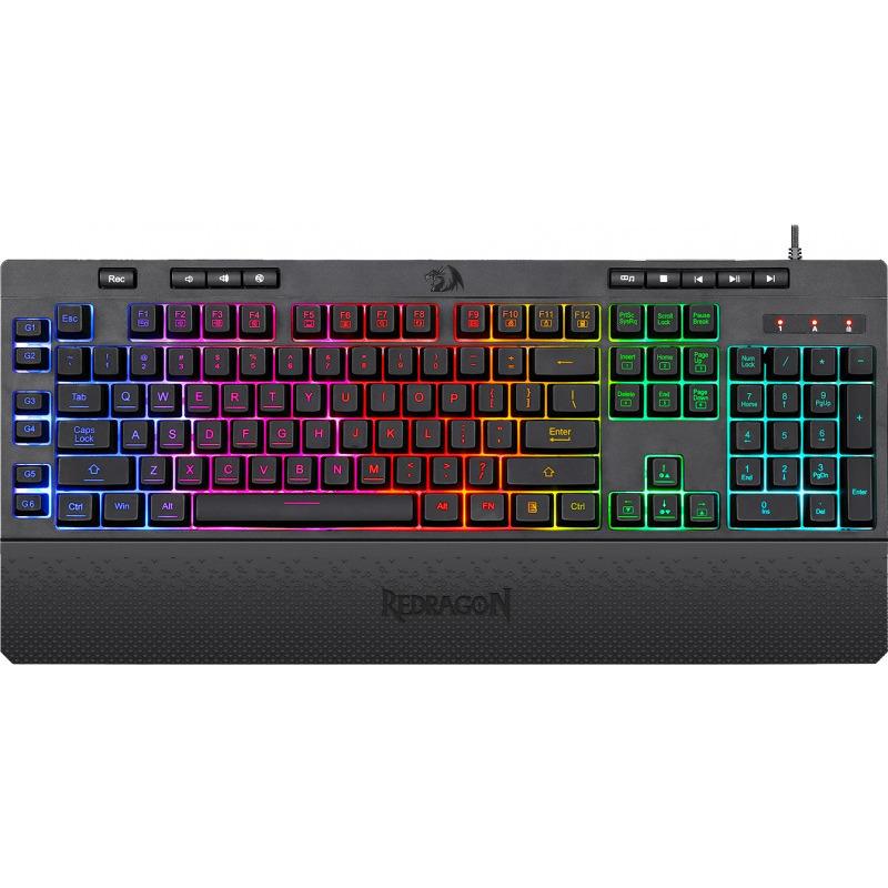 Pachet gaming Redragon, tastatura gaming Shiva RGB + mouse gaming Ranger RGB 1