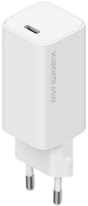 Incarcator retea GSM Xiaomi Mi 65W Fast Charger with GaN Tech, USB-C cablu inclus (compatibil atat smartphone cat si laptop)