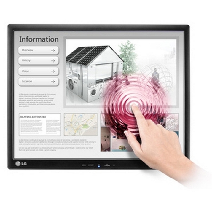 Monitor Touchscreen LG 17MB15T 17 inch 5ms black