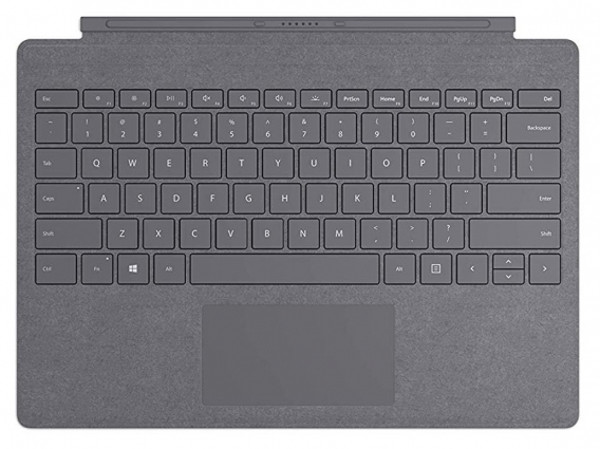 Microsoft Tastatura Wireless Surface Pro Signature Charcoal pentru Surface Pro