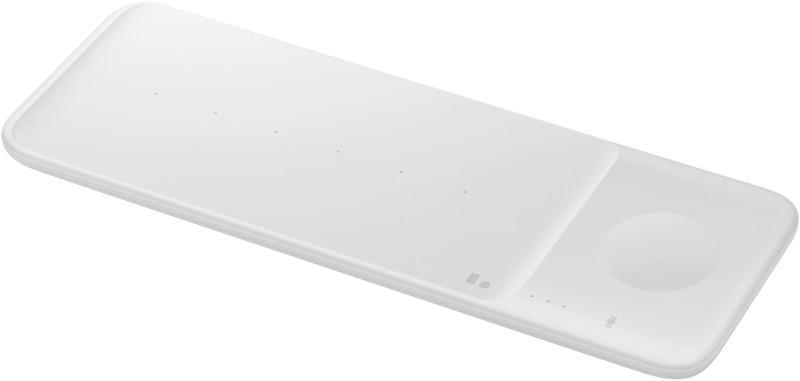 Incarcator wireless GSM Samsung EP-P6300T, Wireless Charger Trio Pad, alb