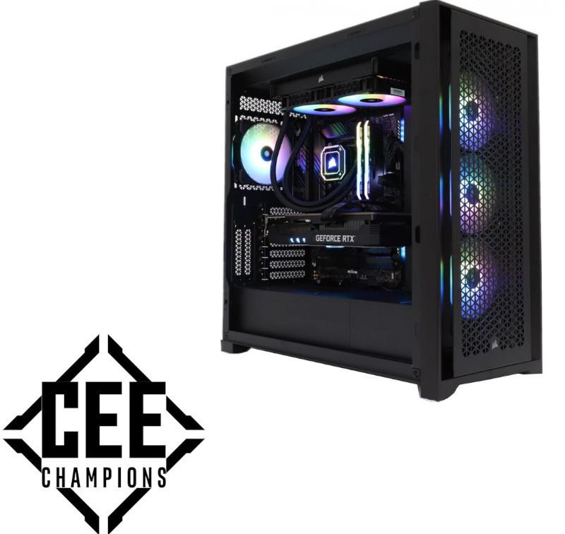 PC Gaming Behemoth Powered By Corsair ICUE, Intel i9 11900KF 3.5GHz, 16GB DDR4, 2TB SSD + 250GB SSD, RTX 3080 Ti 12GB GDDR6X, Iluminare iCUE RGB, Windows 10 Home preinstalat (Game Ready)