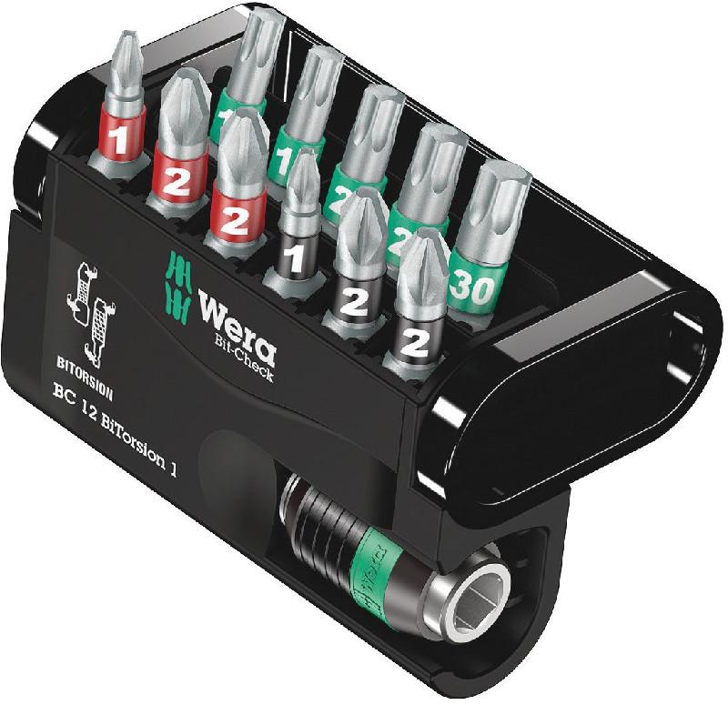 WERA Set 11 varfuri asortate + Adaptor MAG