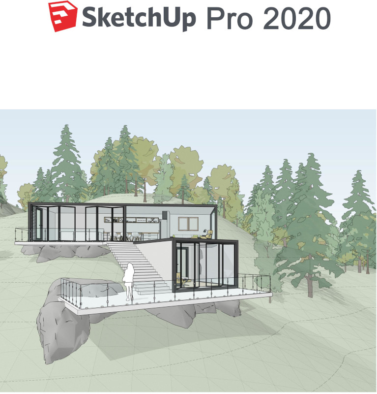 SKETCHUP Pro 2020 Single User, Contract Anual