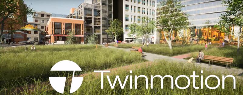 TWINMOTION 2020  - program pentru randare si vizualizare (in general pentru arhitecti)