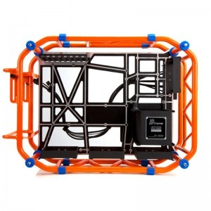 carcasa in win d frame orange pc garage