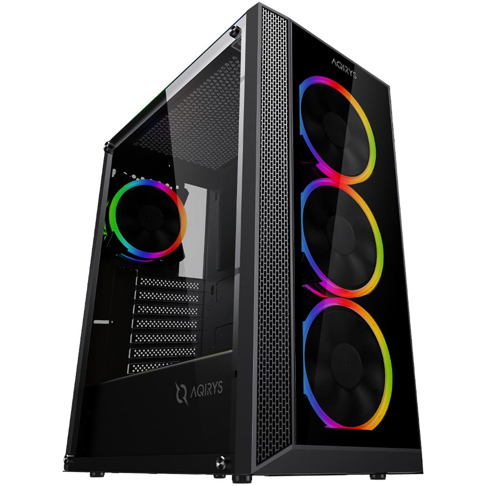 PC FirstGear Gaming Aegis, Intel i3-10100F 3.6GHz, 16GB DDR4, 500GB SSD, GTX 1660 SUPER 6GB GDDR6, Iluminare RGB