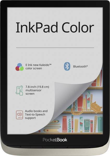 E-book Reader PocketBook Inkpad Color Silver