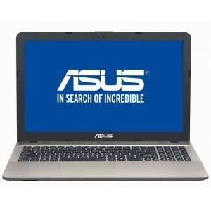 Notebook / Laptop ASUS 15.6'' X541NA, HD, Procesor Intel® Celeron® Dual Core N3350 (2M Cache, up to 2.4 GHz), 4GB, 500GB, GMA HD 500, Endless OS, Chocolate Black