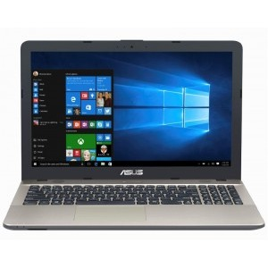 Notebook / Laptop ASUS 15.6'' A541NA, HD, Procesor Intel® Celeron® Dual Core N3350 (2M Cache, up to 2.4 GHz), 4GB, 500GB, GMA HD 500, Win 10 Home, Chocolate Black